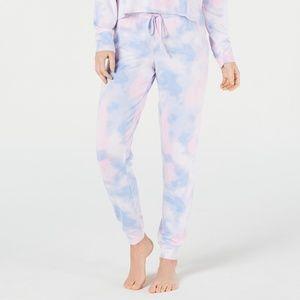 Jenni Tie Dye Soft Knit Pajama Pants 1X